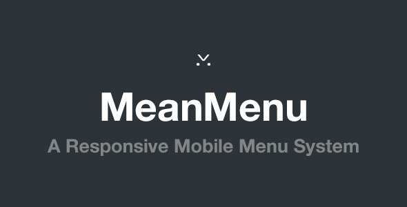 MeanMenu - Responsive Mobile Menu