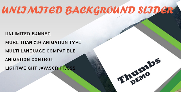 Enrich Your WordPress Website with Unlimited Background Slider