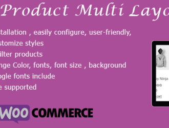 Woo Product Multi Layout for WooCommerce 3+