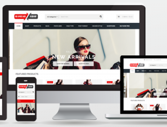 Hamzahshop WooCommerce WordPress Theme ( free version )