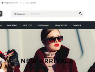 Hamzah Shop WordPress Theme (  WooCommerce 3+ )