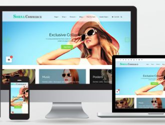 SornaCommerce Multi-purpose WooCommerce WordPress Theme ( Pro ) ( With Child Theme Simu Store  )