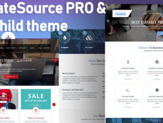 CorporateSource ( PRO ) Minimal Multipurpose WooCommerce  WordPress Theme