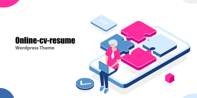 We Just Launched New Theme – Online CV Resume