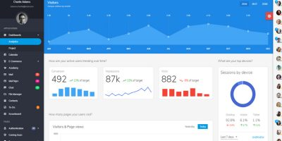 20+ Awesome Bootstrap Admin Dashboard Templates