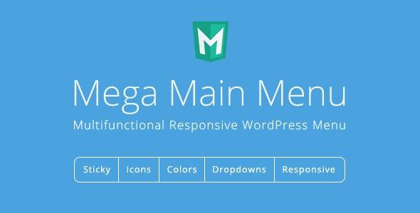Preview screenshots of Mega Main Menu