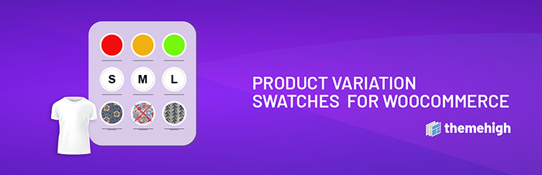 Preview screenshots of Product Variation Swatches for WooCommerce