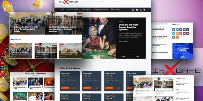 INX-GAME An Incredible Free WordPress gaming theme