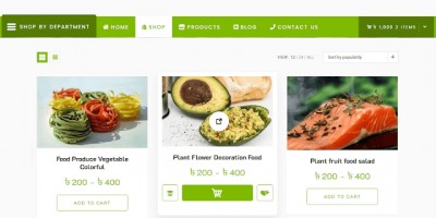 Announcement of Grocery-Store WordPress WooCommerce theme