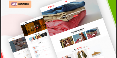 Let's introduce a brand new WordPress theme for your next webstore