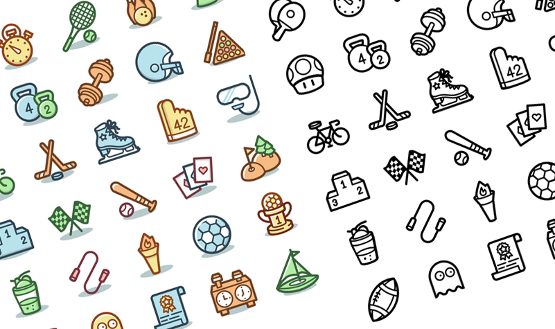 Sports & Games Icons